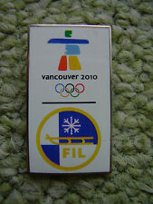 Pin Vancouver 2010 FIL passend zur Olympiade 2016 Rio Olympic Game IOC