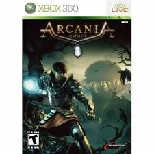 Arcania: Gothic 4 For Xbox 360 Game Only 4E