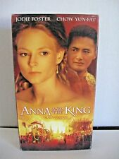 Anna and the King (VHS 1999) Jodie Foster, Yun-Fat Chow  VHS2-11