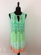 Ali Ro made exclusively for a pea in the pod multicolored dress size M