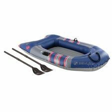 inflatable boat sevylor colossus 2 person + oars
