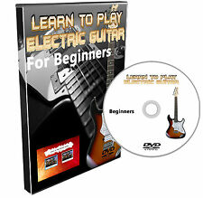 Learn how to play Electric Guitar DVD Course Lessons for beginners