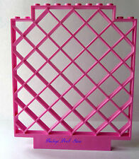 NEW Lego Bright PINK LATTICE WALL Belville 12x1x12 Panel Square 7586