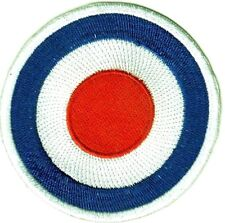 MOD Target Scooter Punk Rock Embroidered Iron on Patch