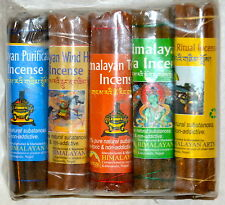 Five Mixed Scent Himalayan Incense Gift Pack 4 inch.Wind Horse Purification Tara