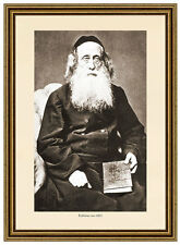 K&K Photo 57 Rabbiner REBBE RAV RABBUNI JUDENTUM GELEHRTE RABBI TALMUD TORAH
