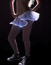 TUTU TULLE WHITE LUMINOUS WITH LED REQUIRED SCENE AND COSTUME FOR WOMEN