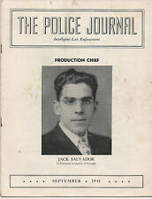 1941 Magazine the Police Journal from the State of Georgia