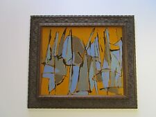 KENNETH JOAQUIN PAINTING ABSTRACT EXPRESSIONIST MODERNISM NON OBJECTIVE VNTG