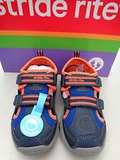 New! Stride rite Made 2 play Machine Washable 6.5 M 6 1/2 T M Boys shoes  $38