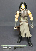 STAR WARS HASBRO 2007 COMIC PACKS #19 QUINLAN VOS JEDI 4 INCH FIGURE LOOSE
