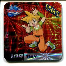 STAKS STAKS AIMANT MAGNET BEYBLADE N° 109 MAX HOLO
