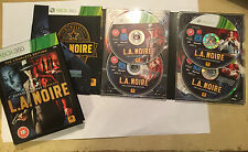 XBOX 360 GAMEVIDEOGAME la L.A. NOIRE THE COMPLETE 4-DISC Edition by Rockstar