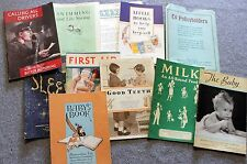 1940s METROPOLITAN LIFE INSURANCE COMPANY Little Book Lot COLLECTION Series