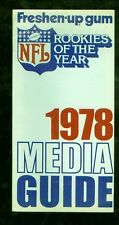 1978 NFL Rookies of the Year football media guide