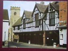 POSTCARD SHROPSHIRE THE GUILDHALL - MUCH WENLOCK