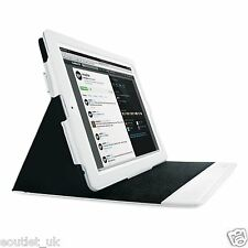 Mophie Smart WorkBook Folio Case Cover Stand For iPad 4, iPad 3 iPad 2 White NEW