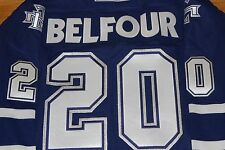 VINTAGE 2002 TORONTO MAPLE LEAFS JERSEY ED BELFOUR NEW WITHOUT TAGS RARE XXL