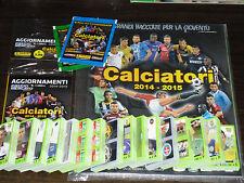 CALCIATORI PANINI 2014 15 ALBUM VUOTO+SET COMPLETO+AGGIORNAMENTI+FILM