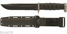 KA-BAR #1282 D2 EXTREME FIGHTING UTILITY KNIFE w/ HARD SHELL BLACK SHEATH