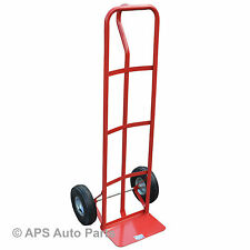 440LB 200kg Heavy Duty Industrial Sack Truck Hand Trolley Wheel Barrow Cart New