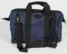 BLUE TOOL BAG 23 Pocket NEW Heavy Duty Canvas Nylon Case Mechanic Carpenter DYI