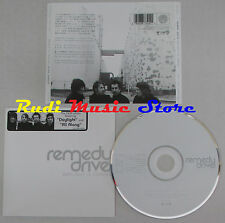 CD REMEDY DRIVE Daylight is coming 2008 WORLD ENTERTAINMENT WD2-887341 lp mc dvd