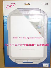 AriCase Rock Waterproof Case for tablet PC or Apple i Pad in White