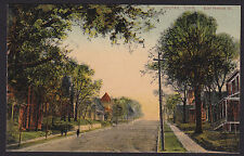 Colfax-Iowa-East Howard Street-Antique Postcard