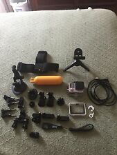 GoPro HERO 4 Black edition 4K And Accessories Water Head Mount Amazing Condition