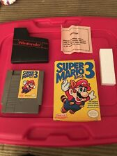 Super Mario Bros 3 (NES, Box, Cartridge, Used)Nintendo Mario 3 in Box