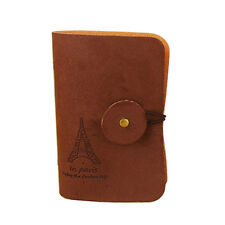 Unisex Credit Card Holder Business ID Card Holder Women Wallet Bag Case C@