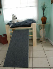 Wood Dog Raised Dog Bed Elevated Dog Bed, Dog Furniture with Dog Ramp