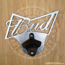 Metal Art Wall Mounted Budweiser Vintage Bottle Opener