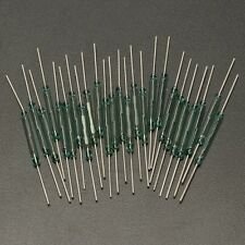 25pcs Reed Glass Magnetic Switches N/O SPST 300VDC 3X20MM