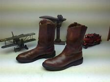 96 VINTAGE BROWN DISTRESSED MADE IN USA RED WING PECOS ENGINEER WORK BOOTS 9.5 B