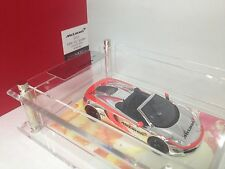 1/43 TSM Model 2013 McLaren MP4-12C Spider Chrome Silver No. TSM13OEM14