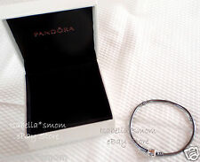 "NEW Authentic PANDORA Sterling Silver OXIDIZED Charms Bracelet 6.7"" 17cm w BOX!"