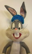 BUGS BUNNY Artist plush doll 1999 beat-up Looney Tunes stuffed animal toy