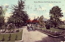 SCENE IN MISSION CLIFF PARK. SAN DIEGO, CA 1911