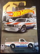 2016 Hot Wheels CUSTOM  Rad Trucks Datsun 620 with Real Riders