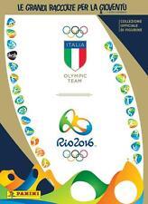 Album Panini Olimpiadi Italia Team RIO 2016 + SET COMPLETO +45 CARDS