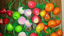 Joblot of 30 Realistic Artificial Mixed Fruit Bunches new wholesale