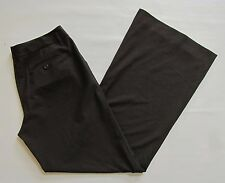"""The Limited Cassidy Black Dress Pants 12 L Long 35"""" Wide Full Flare Leg Stretch"""