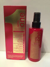 UNIQ ONE UNIQUE 1 ALL IN ONE HAIR TREATMENT SPRAY  - 5.1oz + FREE TRAVEL SIZE!
