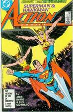 Action Comics # 588 (John Byrne) (Superman, co-starring Hawkman) (USA,1987)