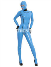 Latex Rubber Catsuit Full-body Bodysuit Hood Suit Sizes available XS- XXL
