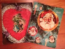 Vintage Sweetheart Ideals and Christmas Ideals Magazines (set of 2)