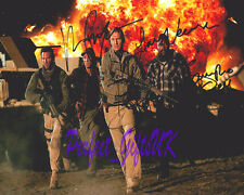 THE A TEAM FILM SIGNED AUTOGRAPHED 10x8 REPRO PHOTO PRINT Neeson Cooper, Jackson