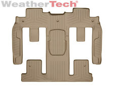 WeatherTech® FloorLiner for Chevy Traverse w/ Bucket - 2009-2010 - 2nd Row - Tan